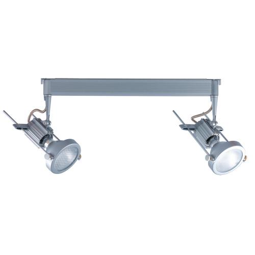JESCO Lighting HMH902P20201S ConTempo Series Metal Halide Track Light, Silver