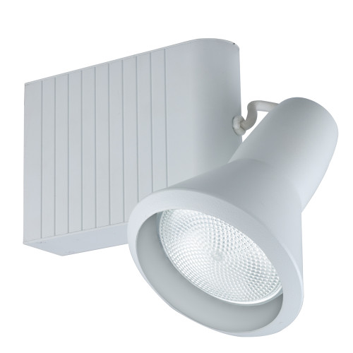 JESCO Lighting HMH907P30701W Classic Series Metal Halide Track Light, White