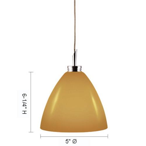 JESCO Lighting QAP119-CB/SN DORA Low Voltage Quick Adapt Pendant