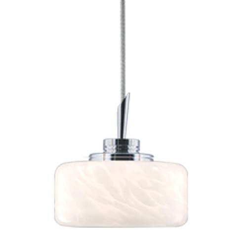 JESCO Lighting QAP229-WF/SN ELAINE Low Voltage Quick Adapt Pendant