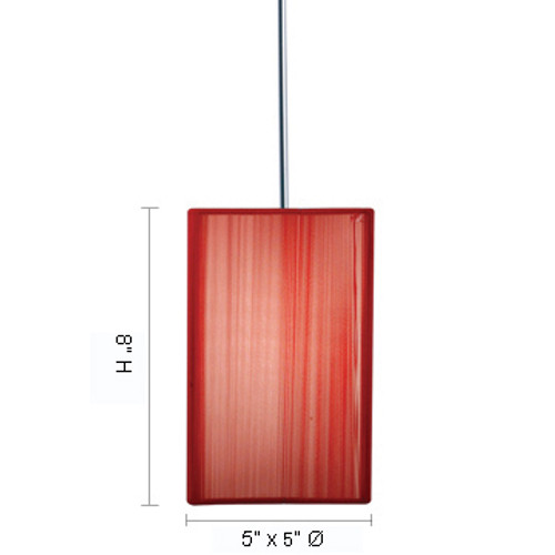 JESCO Lighting QAP230-SV/CH TAO Low Voltage Quick Adapt Pendant