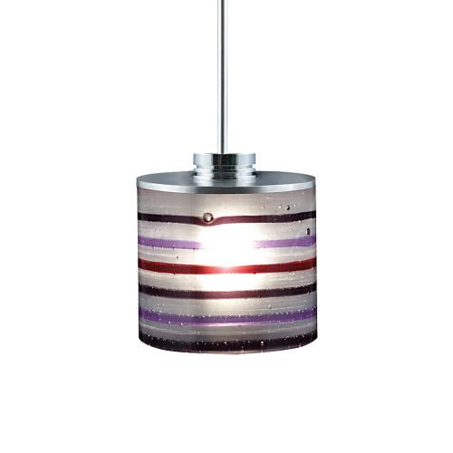 JESCO Lighting QAP702-PU/SN ORFEO Collection Low Voltage Quick Adapt Pendant