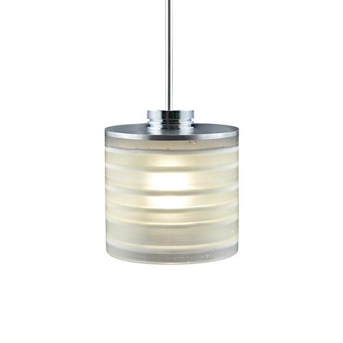 JESCO Lighting QAP702-WH/SN ORFEO Collection Low Voltage Quick Adapt Pendant