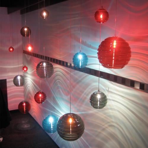 JESCO Lighting QAP752-CC/SN ORFEO Collection Low Voltage Quick Adapt Pendant