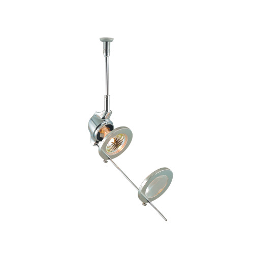JESCO Lighting QAS110X3-CH CHLOE Low Voltage Quick Adapt Spot