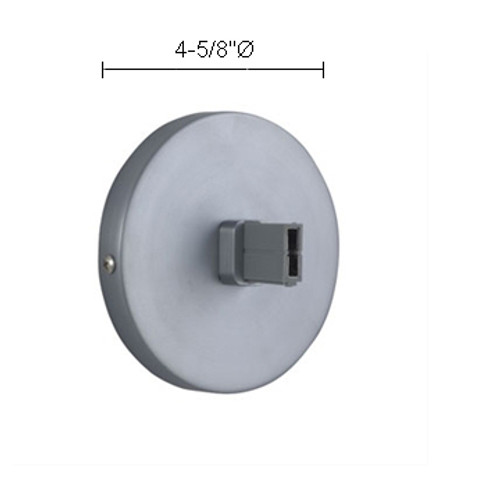 JESCO Lighting MA-PFWSN Wall Mounted Power Feed for Remote Transformer, Satin Nickel