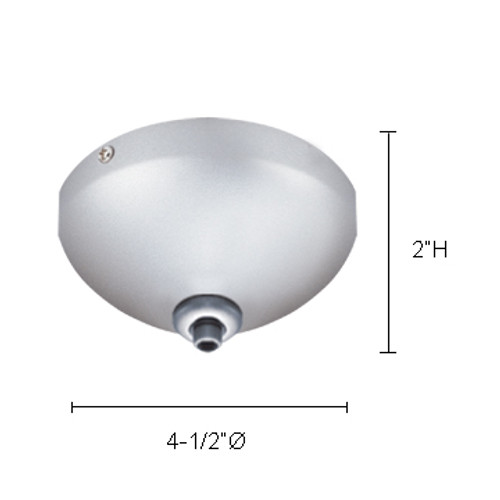JESCO Lighting QAC-1CSN Ceiling Mono & Multipoints (transformer included), Satin Nickel