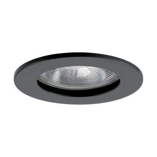 "JESCO Lighting TM5502BK 5"" Line Voltage Open Trim, Black"