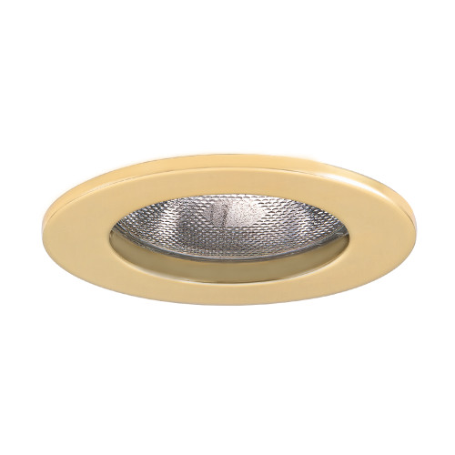 "JESCO Lighting TM5502PB 5"" Line Voltage Open Trim, Polished Brass"
