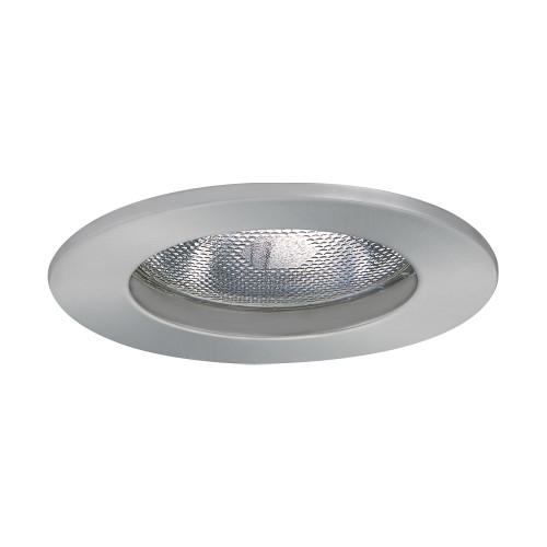 "JESCO Lighting TM5502ST 5"" Line Voltage Open Trim, Satin Chrome"