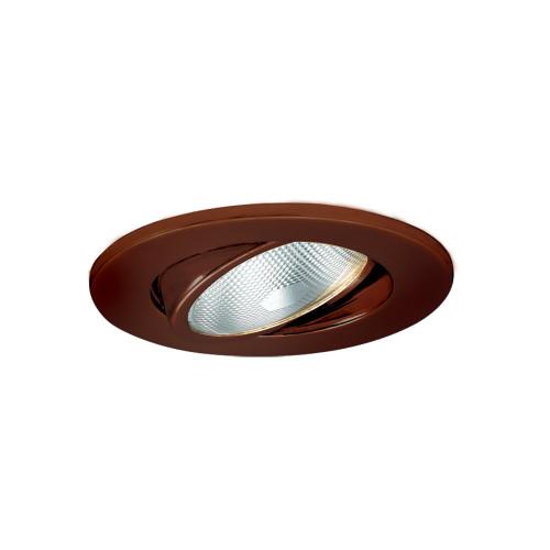 "JESCO Lighting TM5503AB 5"" Line Voltage Adjustable Gimbal Ring Trim, Antique Bronze"