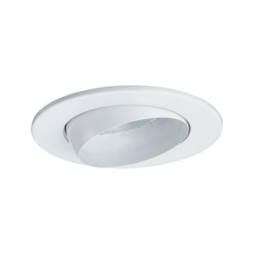 "JESCO Lighting TM5513WH 5"" Line Voltage Adjustable Eyeball Trim, White"