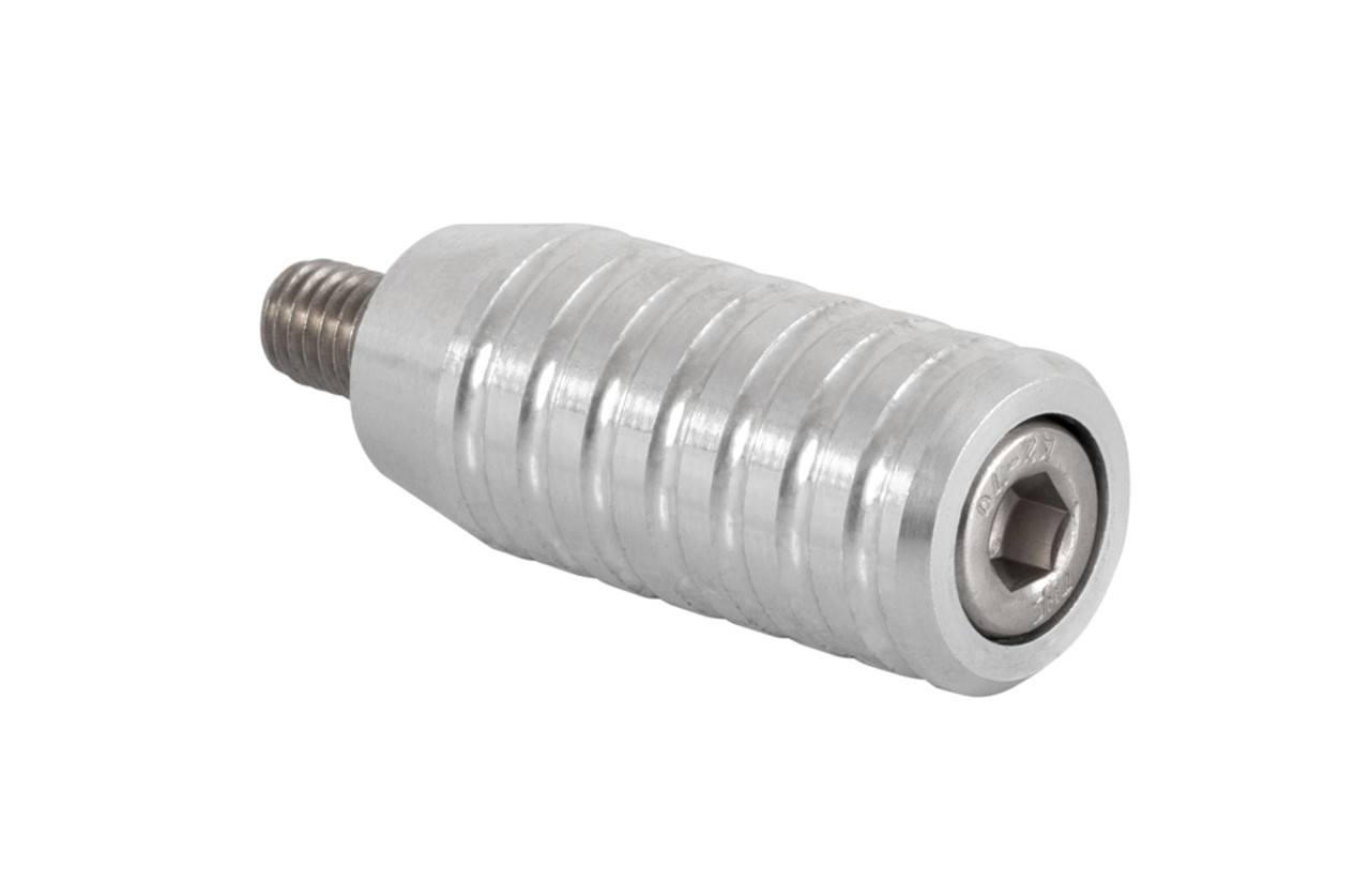 Gear Shifter/Lever End Peg - Aluminum - RIBBED