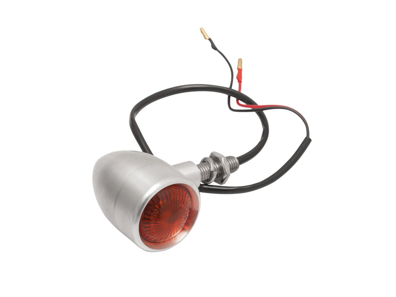 Billet Turn Signals - Pair - Brushed