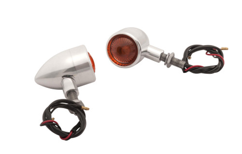 Billet Turn Signals - Pair - Polish