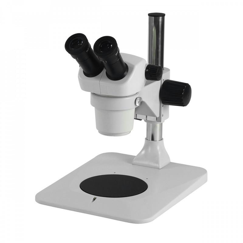 ACCU-SCOPE 3072 Binocular Stereo Microscope on Pole Stand