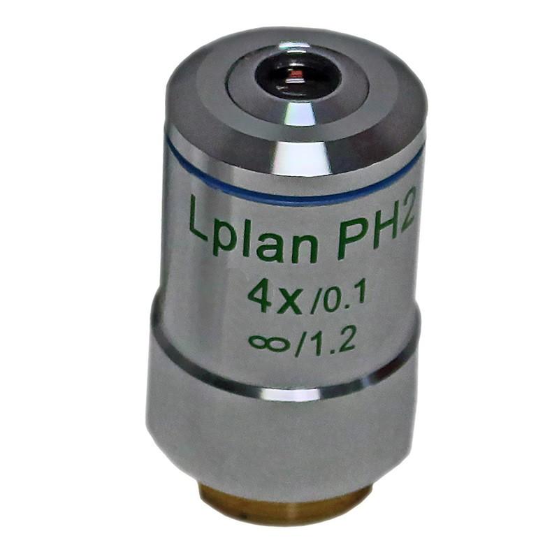 ACCU-SCOPE 310-3173-PH 4x LWD Infinity Plan Phase Objective