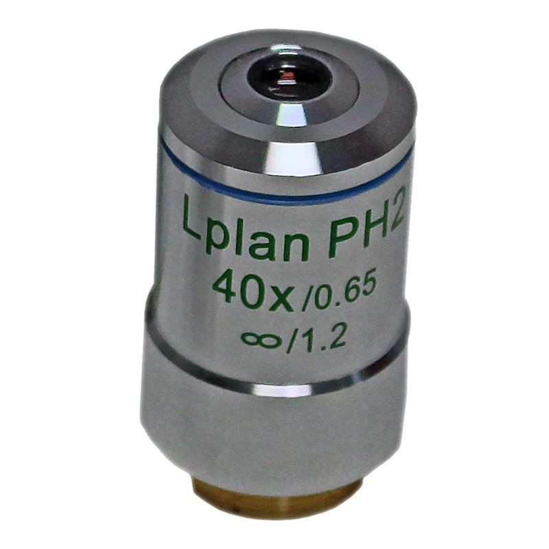 ACCU-SCOPE 310-3175-PH 40x LWD Infinity Plan Phase Objective