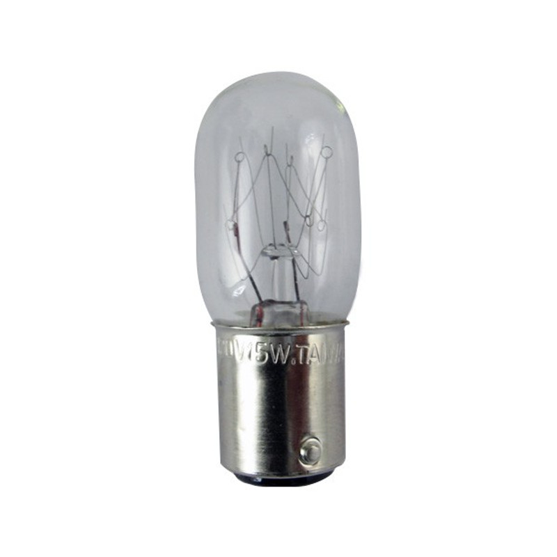 ACCU-SCOPE 20W Oblong Bulb Clear Round (A3276)