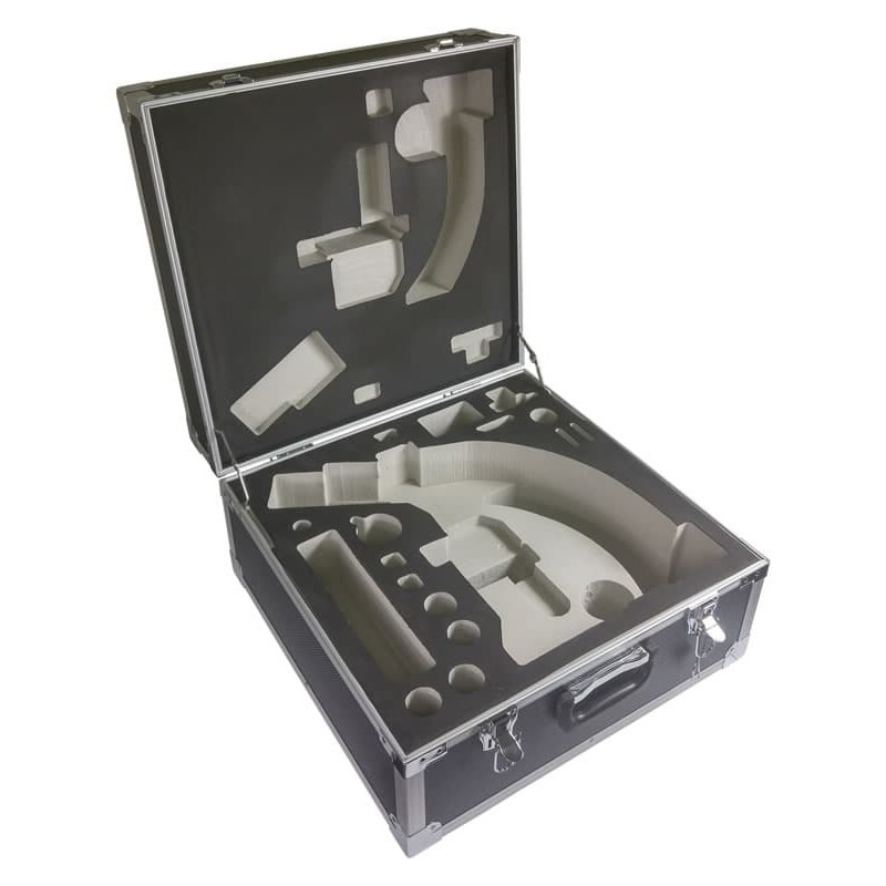 ACCU-SCOPE 350-3295-A Aluminum Hard Sided Microscope Carry Case for EXC-350 Series