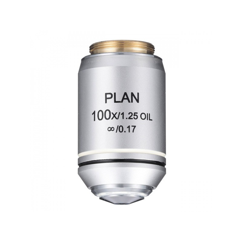 ACCU-SCOPE 400-3176-PL 100xR Oil Infinity Plan Achromat Objectives for EXC-400 Series
