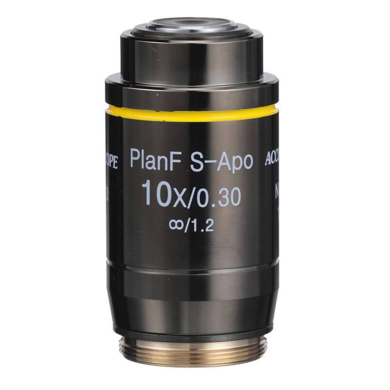 ACCU-SCOPE 410-3174-FL 10x LWD Infinity Plan Fluorite Objective for EXI-410