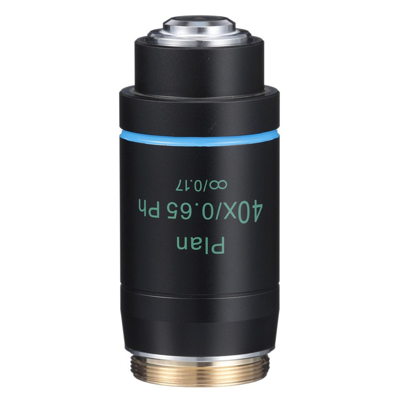 ACCU-SCOPE 410-3175-PH 40x LWD Infinity Plan Phase Objective for EXI-410