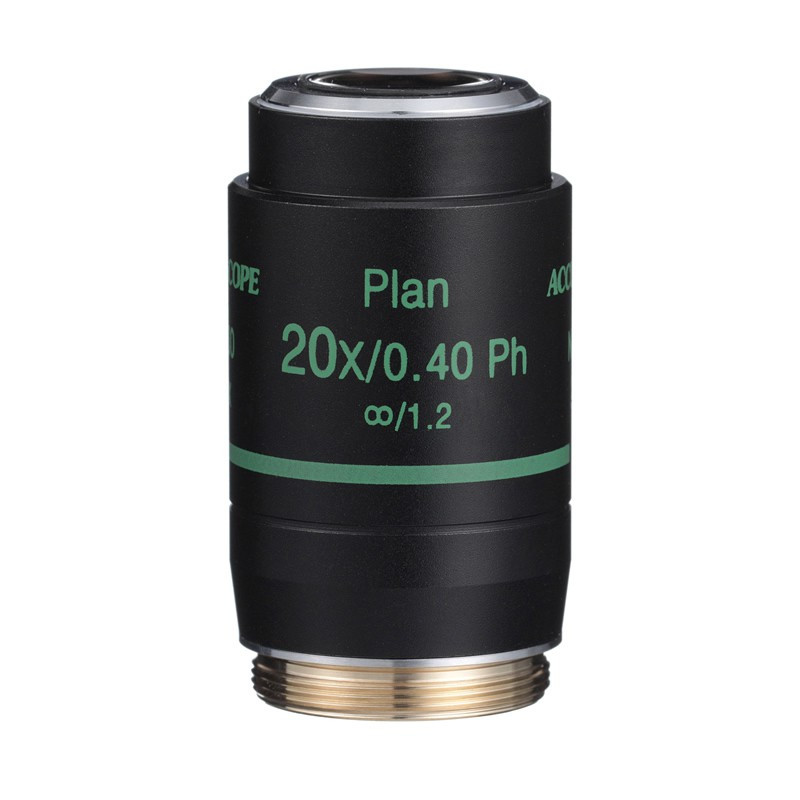 ACCU-SCOPE 410-3177-PH 20x LWD Infinity Plan Phase Objective for EXI-410