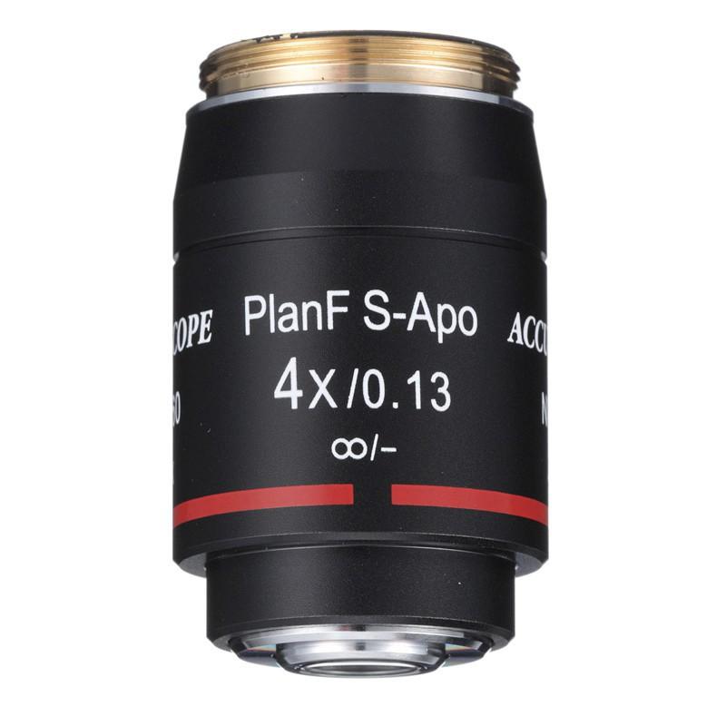 ACCU-SCOPE 4x S-Plan APO Objective for EXC-500 Series - Infinity Corrected
