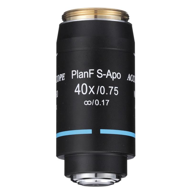 ACCU-SCOPE 40x S-Plan APO Objective for EXC-500 Series - Infinity Corrected