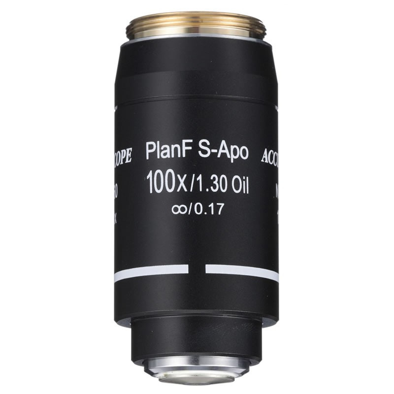 ACCU-SCOPE 100x Oil S-Plan APO Objective for EXC-500 Series - Infinity Corrected