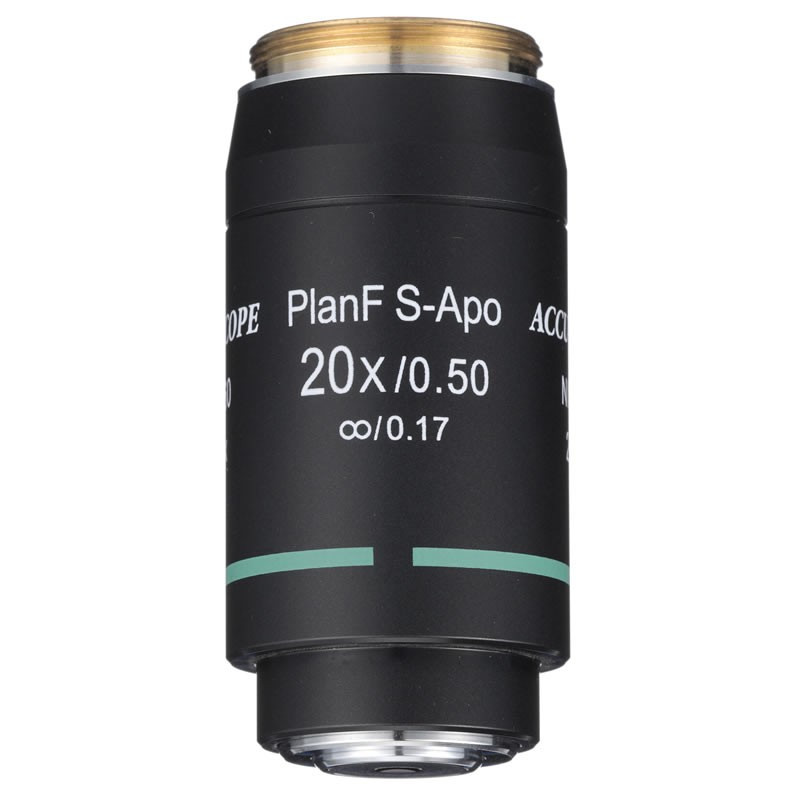 ACCU-SCOPE 20x S-Plan APO Objective for EXC-500 Series - Infinity Corrected