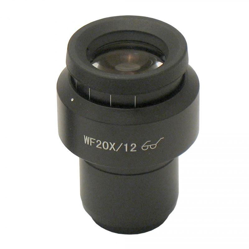 ACCU-SCOPE 75-3313 WF20x/12mm Focusing Eyepiece, Single
