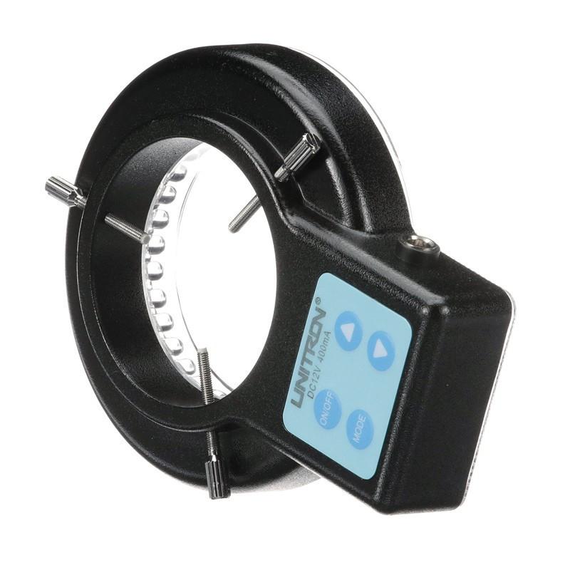 LED Ring Illuminator, 10-Step Variable Intensity