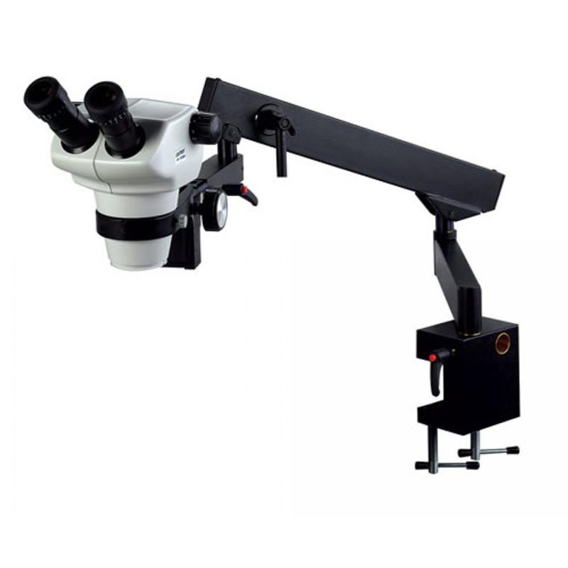 UNITRON 13107 Z850 Binocular Stereo Zoom Microscope on Flex Arm Stand, 8x - 50x Magnification