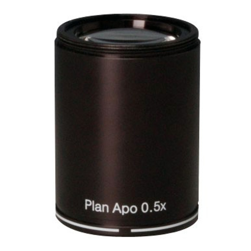 UNITRON 111-15-05 0.5x Plan Apochromatic Objective, Working Distance 126mm