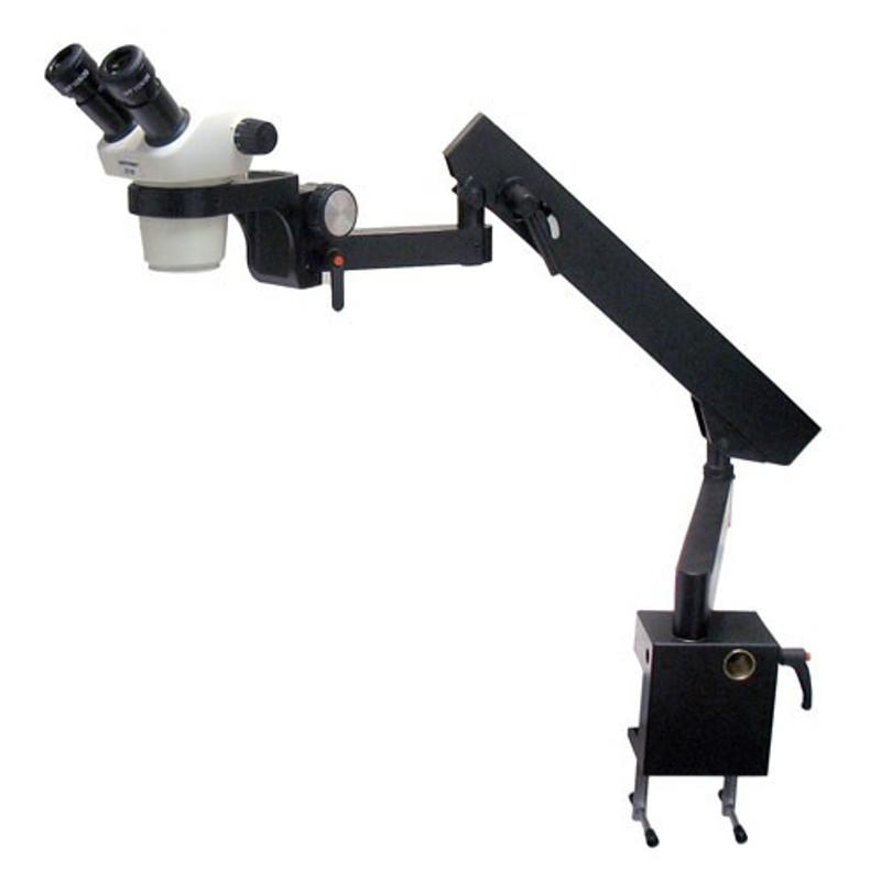 UNITRON 13207 Z730 Binocular Zoom Stereo Microscope on Flex Arm Stand, 7x - 30x Magnification