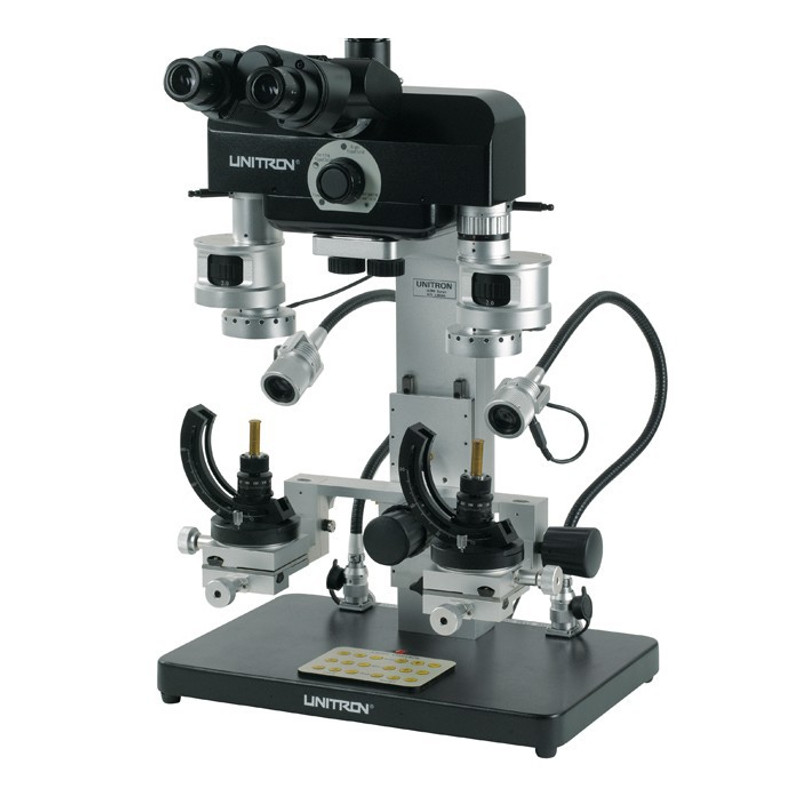 UNITRON 16205 Comparison Forensic Microscope with LED Flexible Light Guides