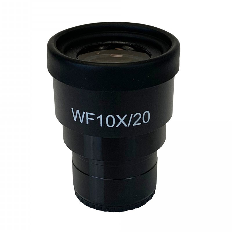 UNITRON 132-10-11 WF10x/20mm Focusing Eyepiece with Roll Down Eyeguard, Single