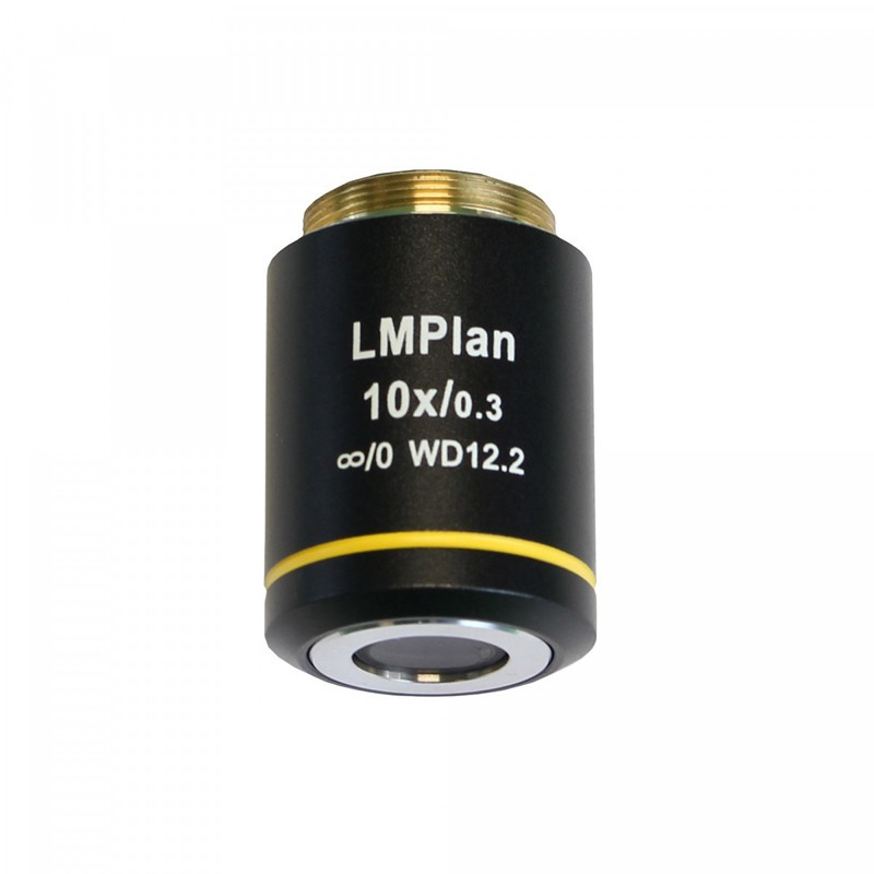 UNITRON 146-15-10 10x LWD Metallurgical Infinity Plan Objective