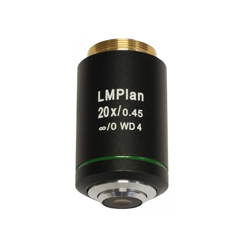 UNITRON 146-15-20 20x LWD Metallurgical Infinity Plan Objective