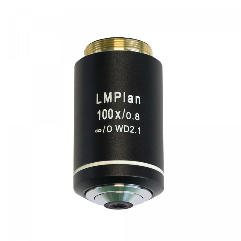 UNITRON 146-15-100 100x Dry LWD Metallurgical Infinity Plan Objective