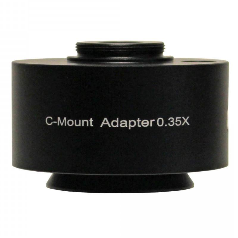 UNITRON 112-25-35 0.35x C-Mount Adapter, Focus Adjustable for Z12 Series