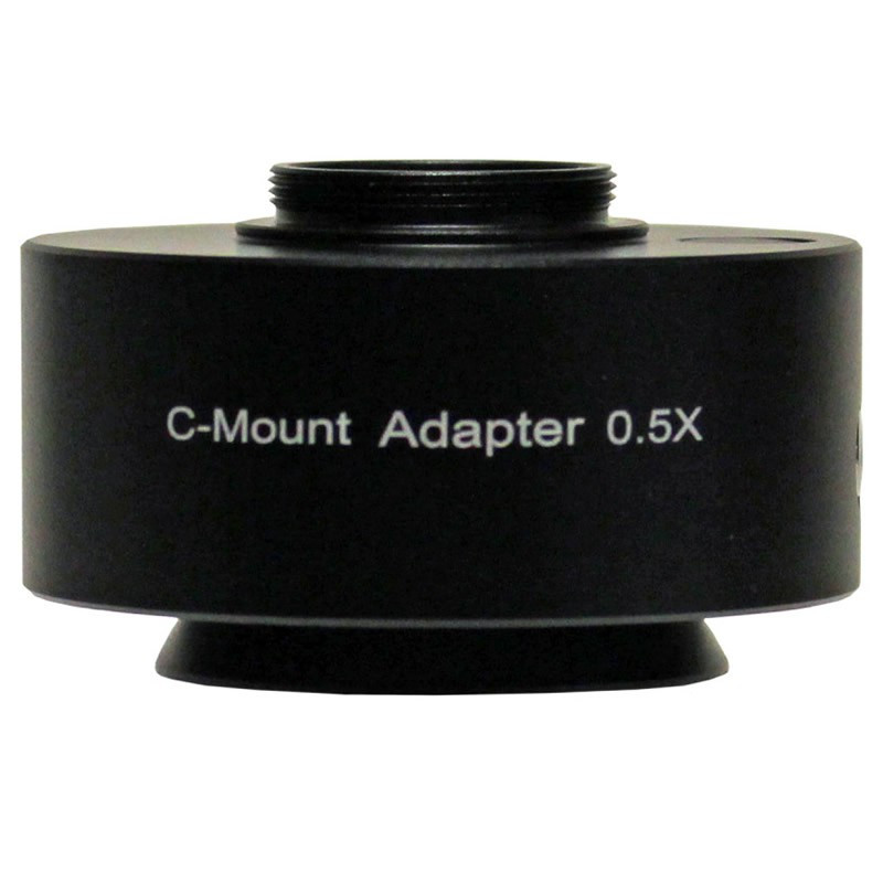 UNITRON 112-25-05 0.50x C-Mount Adapter, Focus Adjustable for Z12 Series