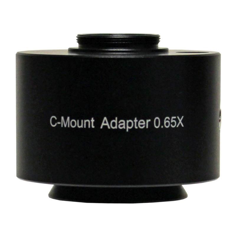 UNITRON 112-25-65 0.65x C-Mount Adapter, Focus Adjustable for Z12 Series