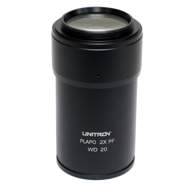 UNITRON 112-15-02 2.0x S-APO Auxiliary Objective for Z12 Series