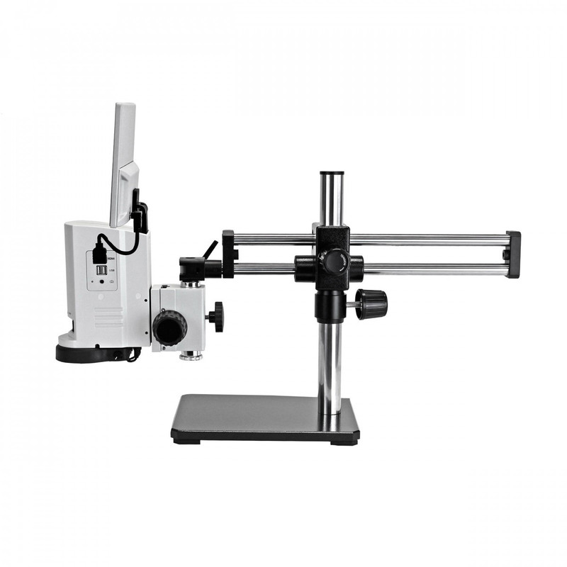 UNITRON 14711-BBS ZoomHD Digital Macro Inspection System with Integrated Monitor on Ball Bearing Boom Stand