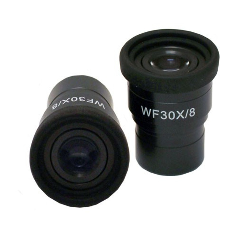 UNITRON 134-10-30 WF30x/8mm Focusing Eyepiece with Built-In Diopter Adjustment and Eyeguard, Single