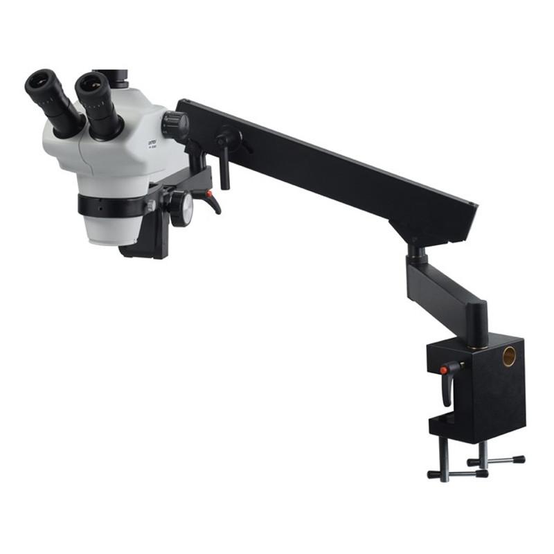 UNITRON 13137 Z850 Trinocular Stereo Zoom Microscope on Flex Arm Stand, 8x - 50x Magnification