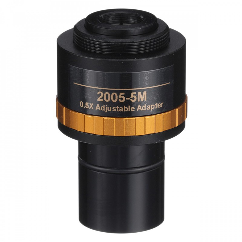 UNITRON 2005-5M 0.50x Focusable C-Mount Adapter